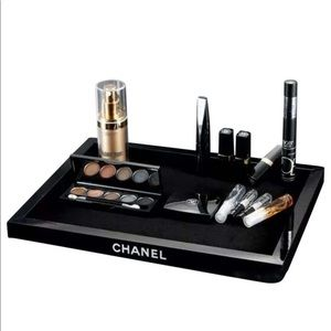 NEW+ BOX: CHANEL Velvet Lined Cosmetic Tray